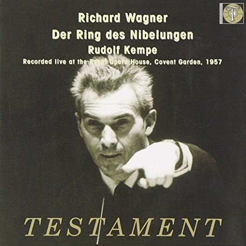Richard Wagner: Der Ring des Nibelungen (Live at the Royal Opera House, Covent Garden, 1957) [Box Set] by Testament UK (2008-08-12) (Wagner The Ring Testament compare prices)
