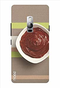 Noise Melted Choc Bowl Printed Cover for OnePlus 2