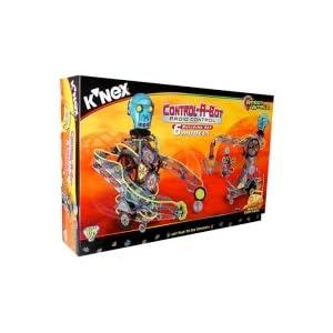 K'nex Control-a-bot Radio Control Robotic Building Set,63155