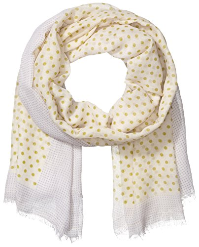 Pieces - Pcnanna Long Scarf, Sciarpa da donna, multicolore (whitecap gray), unica