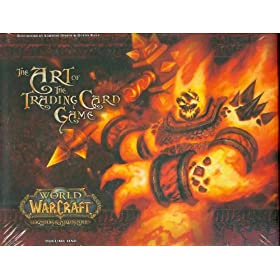 World Of Warcraft ART OF THE TRADING CARD GAME Hard Cover