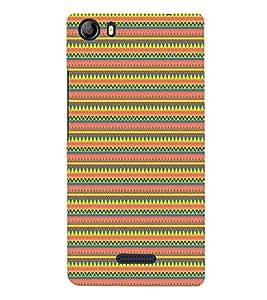 Janda Flag Pattern Cute Fashion 3D Hard Polycarbonate Designer Back Case Cover for Micromax Canvas 5 E481