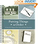 Putting Things in Order: A Journal to...