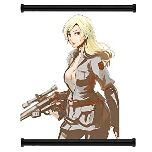 Metal Gear Solid Sniper Wolf Hot sexy Wall Posters