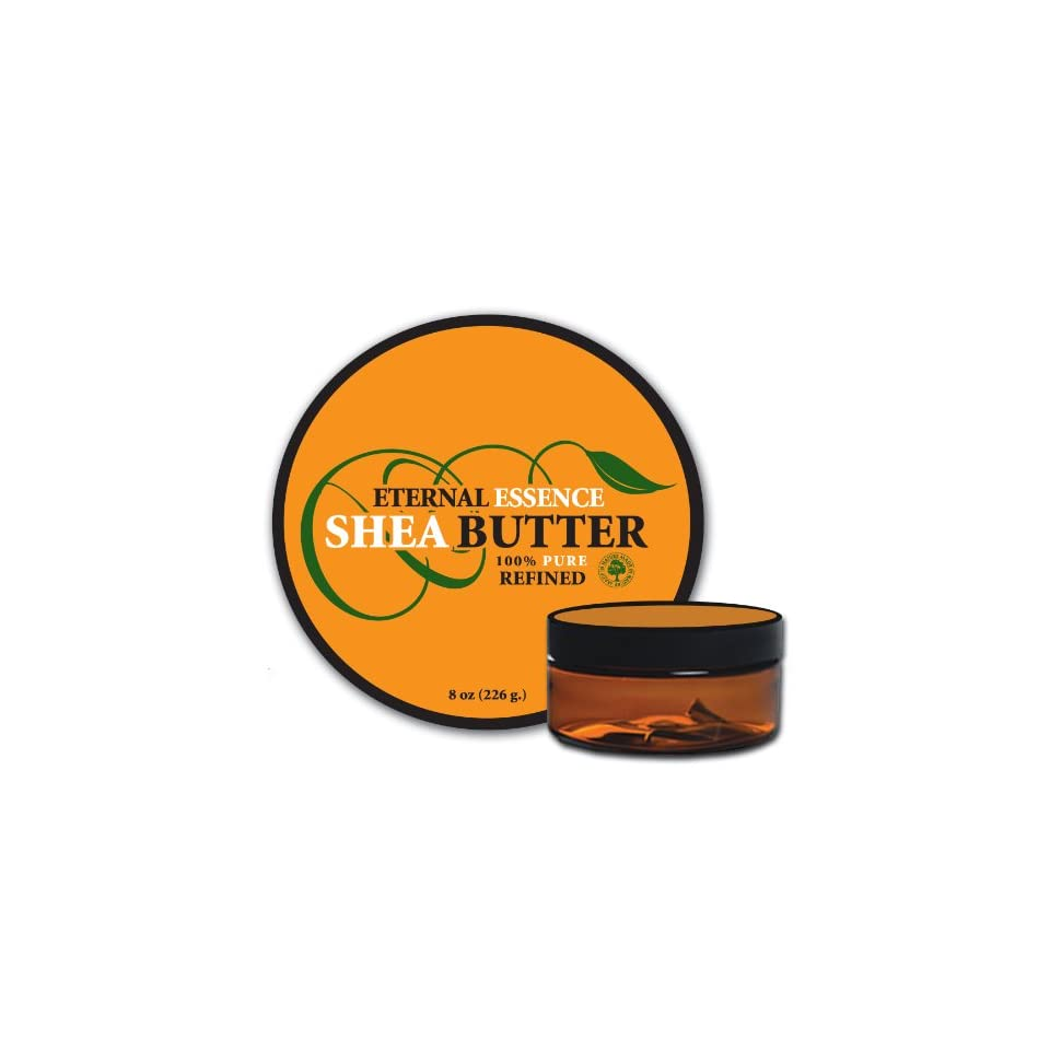 African Shea Butter 8.0 Oz   100% Pure   From Ghana   Refined