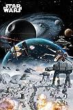 """Star Wars - Movie Poster (Battle Collage) (Size: 24"""" x 36"""")"""
