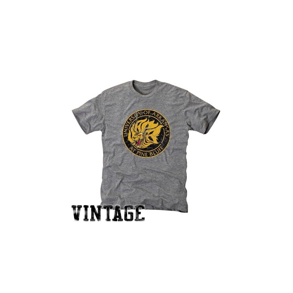NCAA Arkansas Pine Bluff Golden Lions Ash Distressed Logo