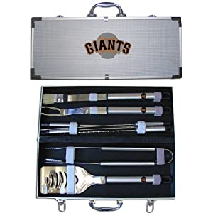 MLB San Francisco Giants BBQ Logo Tool Set by Siskiyou
