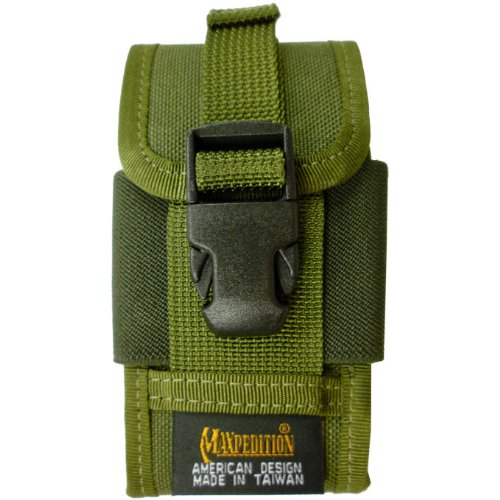 Maxpedition Clip-On PDA Telefono Fondina OD Verde