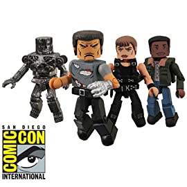 Terminator 2 Minimates Cyberdyne Assault SDCC Exclusive 4-Pack Box Set