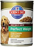 Hill's Science Diet Perfect Weight Dog Food Can, 12.8-Ounce, 12-Pack