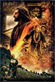 Poster The Hobbit - Desolation of Smaug Fire - reasonably priced poster, XXL wall poster, format 61 x 91.5 cm