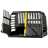 4x4 North America Variocage Double Crash Tested Dog Cage, X-Large (Color: Gray/ Black, Tamaño: X-Large)