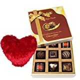 Precious Moments Chocolate Collection With Heart Pillow - Chocholik Luxury Chocolates