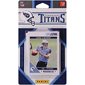 Panini Tennessee Titans 2011 Team Collection Trading Card Set by Panini