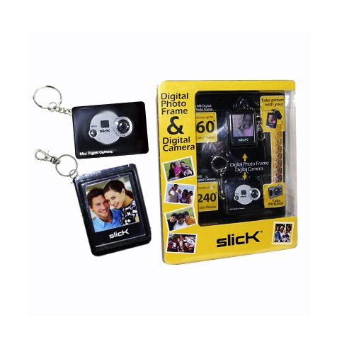Slick Digital Photo Frame & Digital Camera