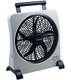 """O2COOL 10"""" Rechargeable Fan"""