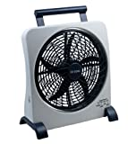 "O2COOL 10"" Rechargeable Fan"