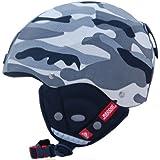 COX SWAIN ski snowboard helmet BONE with RECCO avalanche reflector