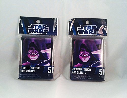 Star Wars Force Lightning Art Sleeves Limited Edition 100 count