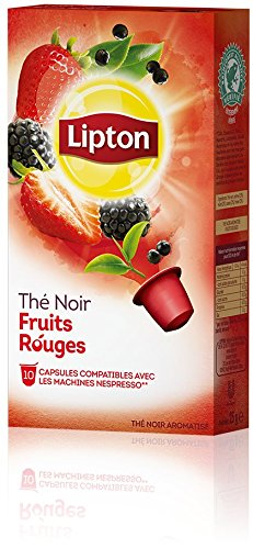 Shop for LIPTON Forest Fruits (Nespresso Compatible TEA Capsules) - 10 caps / box - 60 caps TOTAL from LIPTON - UNIVER