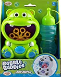 Bubble Buddies Toddlers Battery Operated Bubble Blowing Blower Machine - Hippo