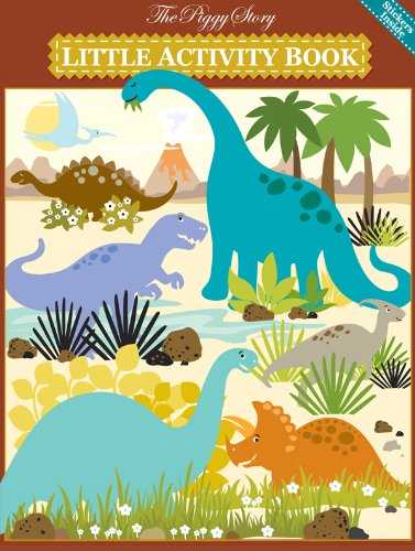 Piggy Story Little Activity Book, Dinosaur World