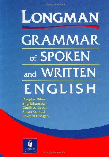 Hardcover, Longman Grammar of Spoken and Written English