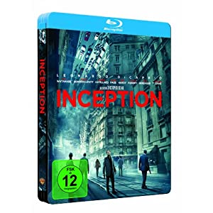 51LAn0Ox4SL. AA300  Inception limited Steelbook [Blu ray] für 16,97€ inkl. Versand