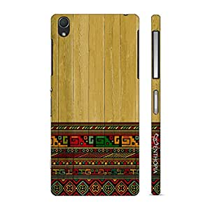 Enthopia Designer Hardshell Case Aztec from Greece Back Cover for Sony Xperia Z2