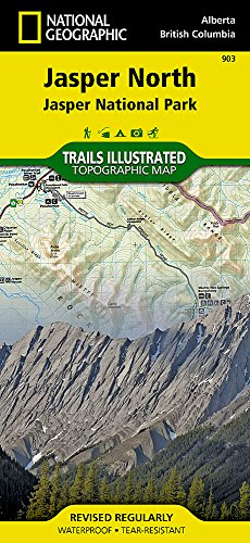 Jasper North: Trails Illustrated National Parks (National Geographic Trails Illustrated Map)