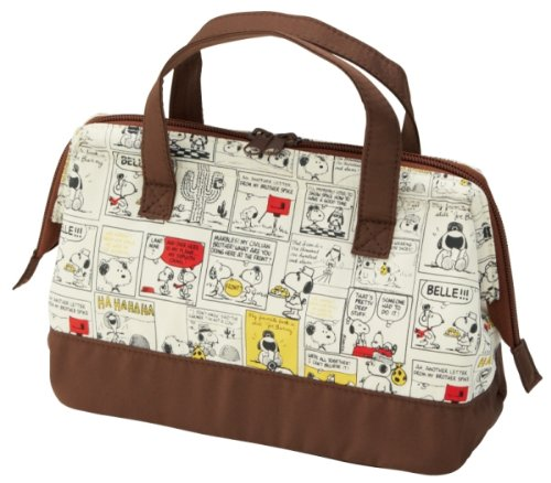 Insulated Lunch Bag M Snoopy Comic
