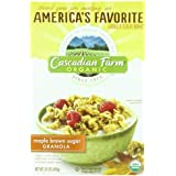 Cascadian Farm Organic Granola Whole Grain Oats, Maple Brown Sugar, 15.0 Ounce (Pack Of 2)