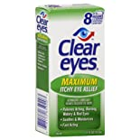 Clear Eyes Eye Drops, Maximum Itchy Eye Relief, .5 oz.