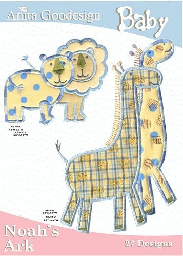 Anita Goodesign Embroidery Designs Baby Noahs Ark back-834423