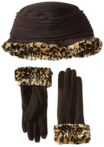 isotoner s stretch fleece hat and glove set dealtrend