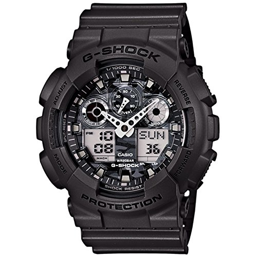 GA-100CF-8ADR Casio Wristwatch (Amazon G Shock compare prices)