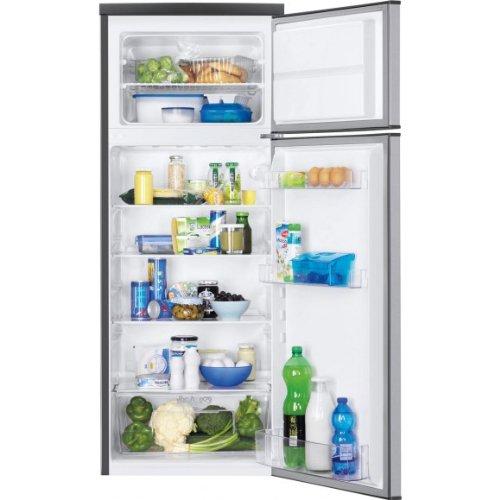 Faure FRT23100XA réfrigérateur-congélateur - réfrigérateurs-congélateurs (Autonome, Acier inoxydable, Placé en haut, A+, SN, ST, Non, 4*)