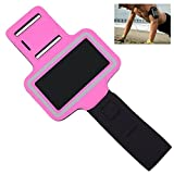 OFTEN Adjustable Armband For Samsung Galaxy S3 S4 S5 i9300 i9500 i9600 Gym Running Sports Case Cover Holder Jogging (Rosy)