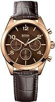 Hugo Boss Rose Gold Leather Chronograph Ladies Watch 1502311