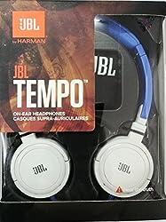 JBL J03BW Tempo On-Ear Headphone (Blue White)
