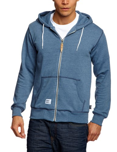 Addict Entry Supply Zip Hood Men's Sweatshirt Athletic Blue X-Large