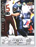 Patrick Kerney / Seattle Seahawks / 2008 Upper Deck First Edition Football Card # 127 / NFL Football Trading Card in Screwdown! at Amazon.com