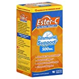 Ester-C Vitamin C, 500 mg, Coated Tablets, 90 ct.