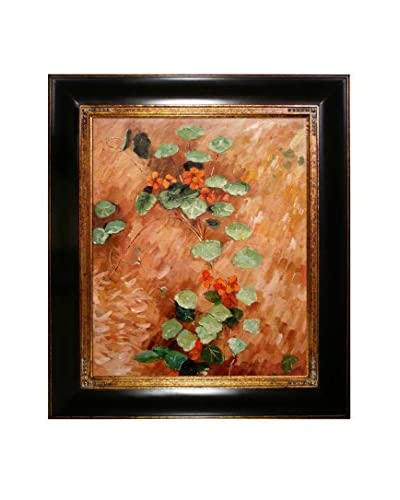 Gustave Caillebotte Nasturces Framed Canvas
