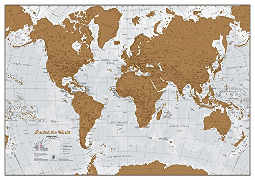 Scratch The World - Scratch off places you travel! (The World Of Maps compare prices)