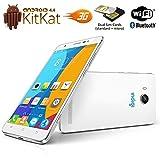 Indigi® Unlocked Android 4.4 Kit Kat DualSim 3G SmartPhone SmartWake DualCore Dual Cameras AT&T T-Mobile Straightalk