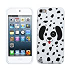 MYBAT Dotted Dalmatian Candy Skin Cover for APPLE iPod touch (5th generation)