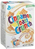 General Mills Cinnamon Toast Crunch Cereal, 1-Ounce Single Serve Box (Pack of 70)