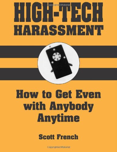 HIGH-TECH HARASSMENT: Scott French: 9780873646161: Amazon.com: Books